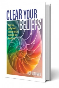 Clear Your Beliefs Book template upright